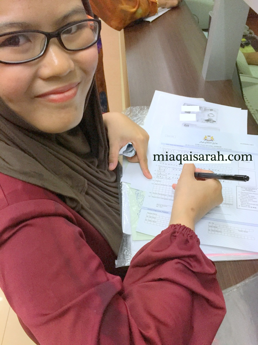 Permohonan Kad Nikah Pintar Negeri Johor