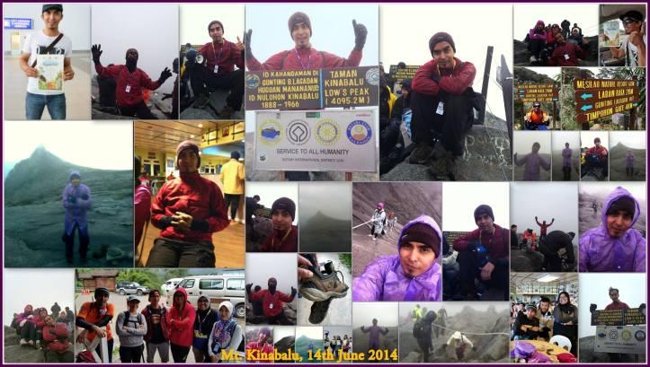 bob kurus mendaki gunung Kinabalu