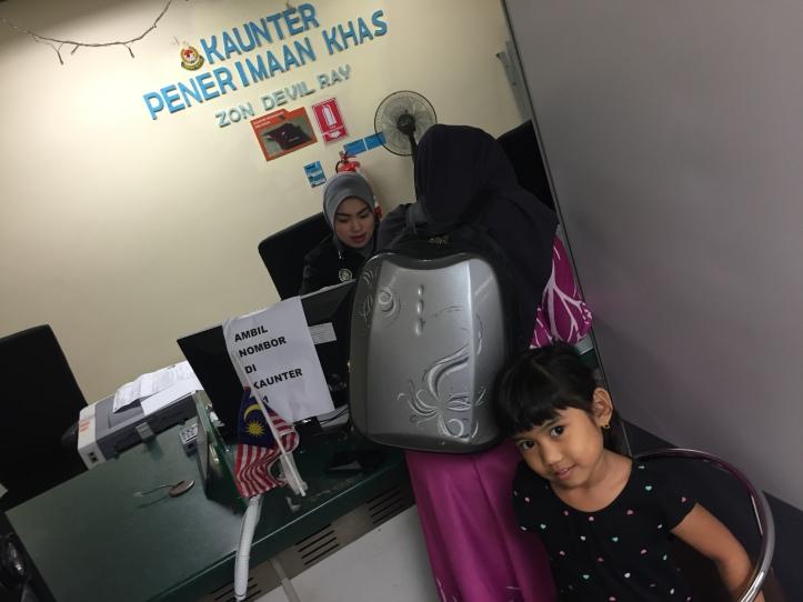 Priorty Lane Imigresen Jalan Duta