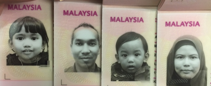 My family passport